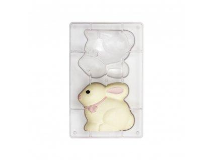 """Polykarbonátová forma na čokoládu Bunny """"107, Decora"""
