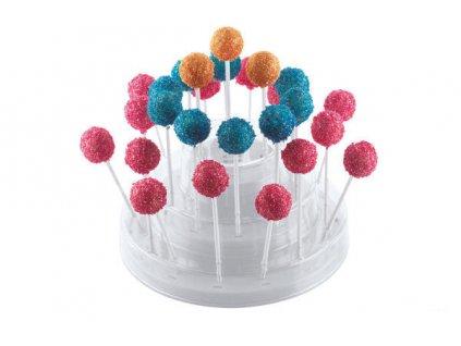 Stojánek na cakepops bílý Silikomart