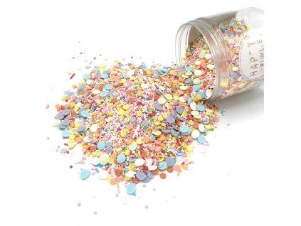Cukrové zdobení Happy Sprinkles BIRTHDAY PARADE, 90g