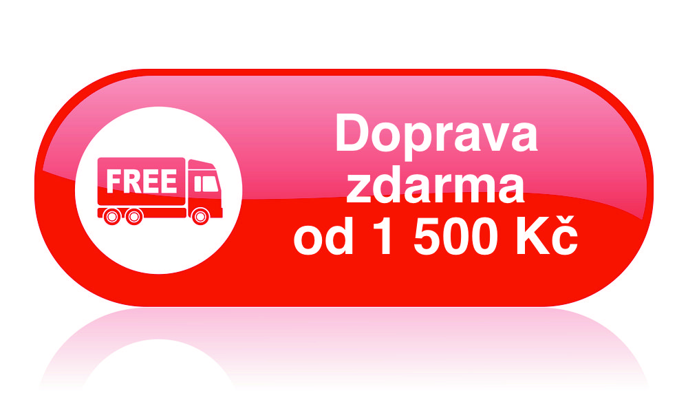 Doprava zdarma od 1500 Kč