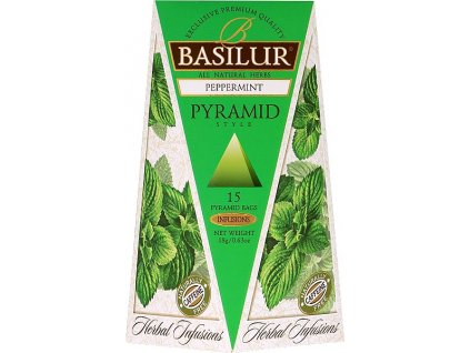BASILUR Herbal Peppermint Pyramid 15x1 2g