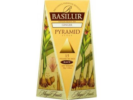 BASILUR Magic Ginger Pyramid 15x2g