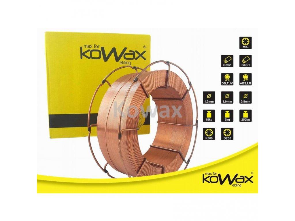 Poměděný svařovací drát KOWAX SG2 SG3 6a2