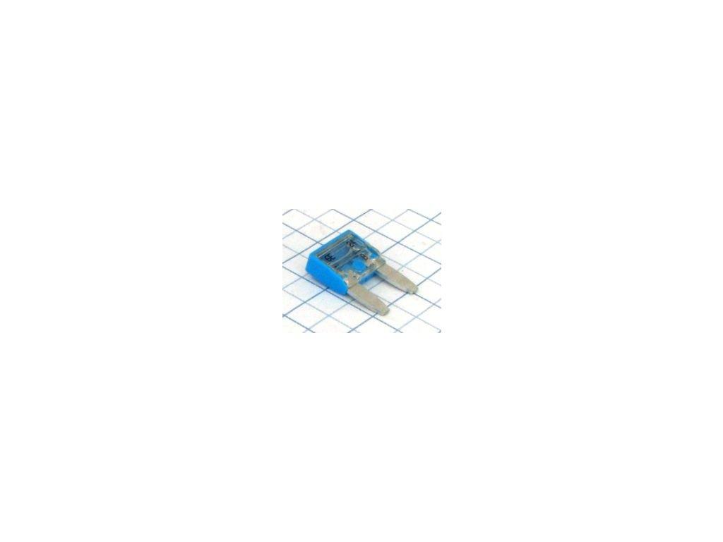 mini nozova poistka 15a modra i16348