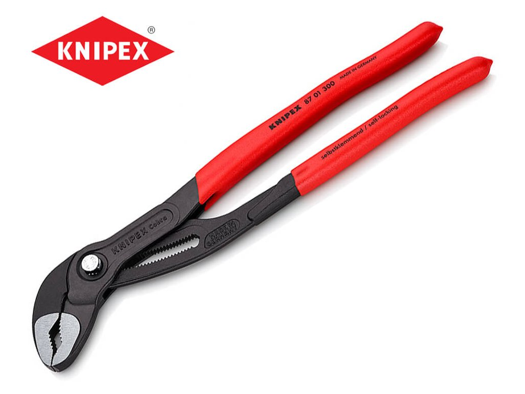 instalaterske klieste knipex cobra 300 mm 8701300
