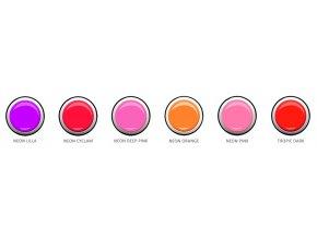 HQ UV/LED gely farebné 5g - NEON 3