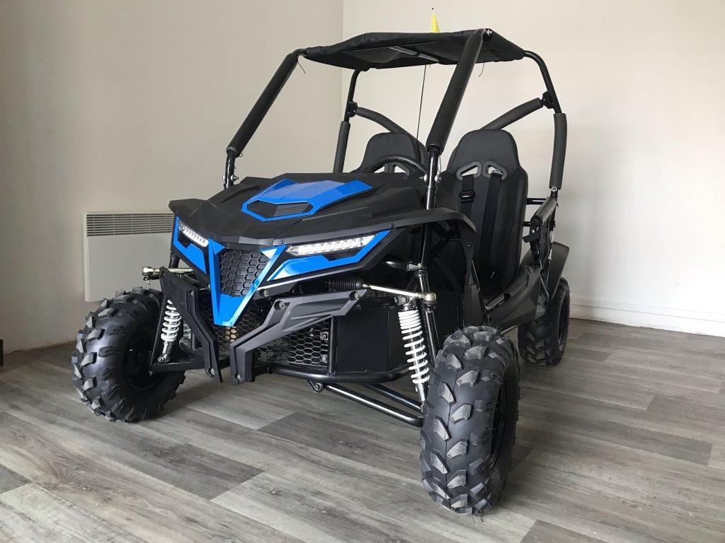 Buggy 208ccm K3 - automatic modrá
