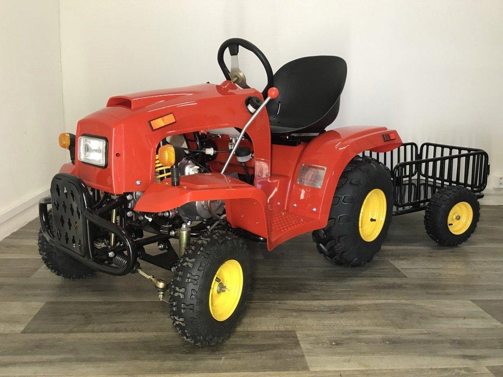 Traktor s vozíkem 110ccm