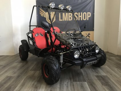 Buggy 125ccm spider automat černá