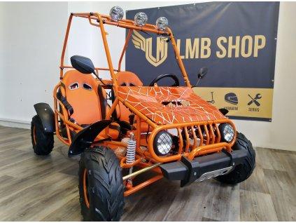 Nitro Spider 125ccm, automat, oranžová