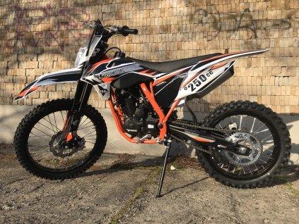 Pitbike Leramotors Killer 250cc 21/18 oranžová