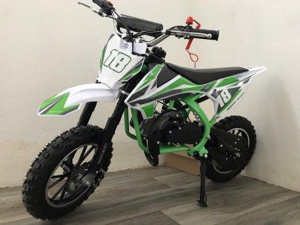 Leramotors Devil Deluxe 49cc 2T zelená
