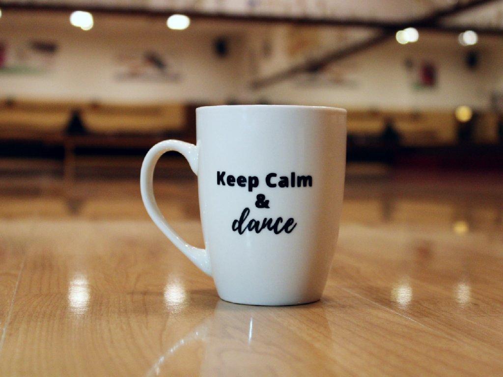 hrneček Keep Calm & dance