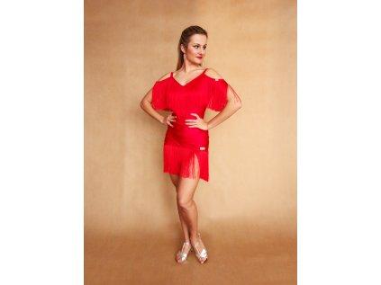 sukně s třásněmi Red