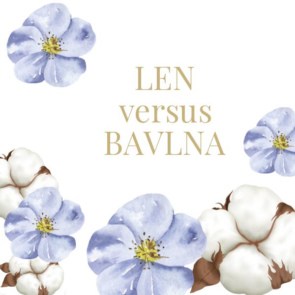 Len versus bavlna, aneb které z vláken je šetrnější k planetě?
