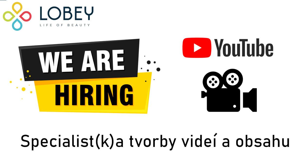 Specialist(k)a tvorby videí a obsahu