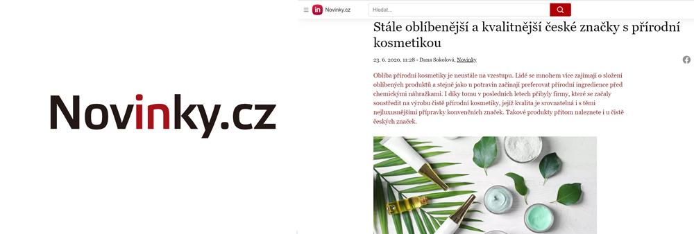 Stále oblíbenější a kvalitnější české značky s přírodní kosmetikou