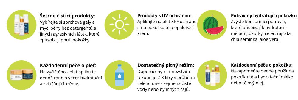 Jak předcházet dehydrataci pleti?