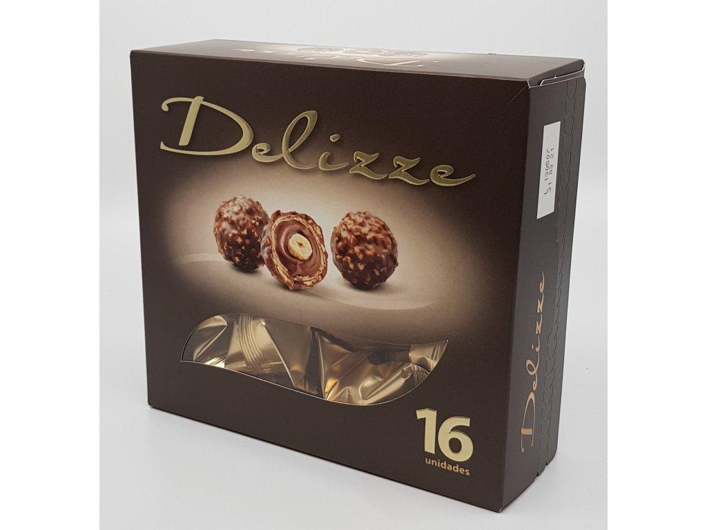 Čokoládové bonbony s oříškem