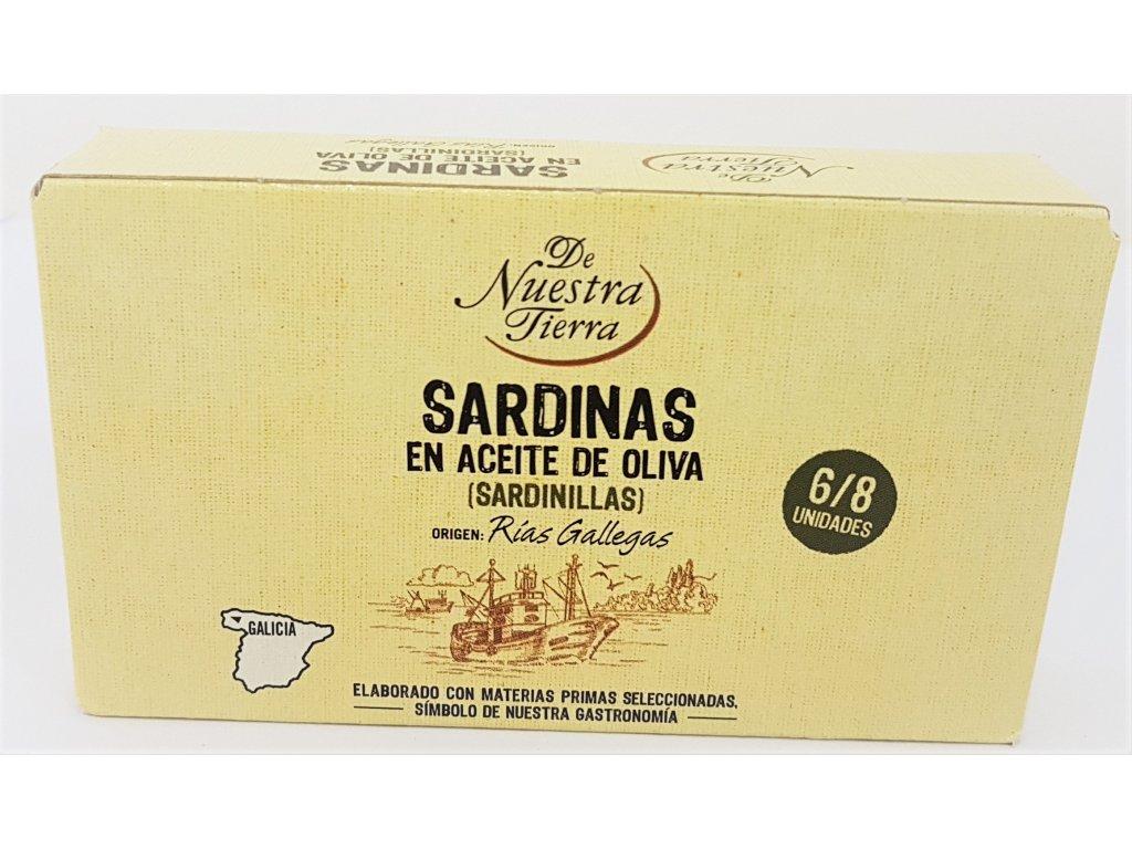 Sardiny v oliv.oleji de nuestra tierra