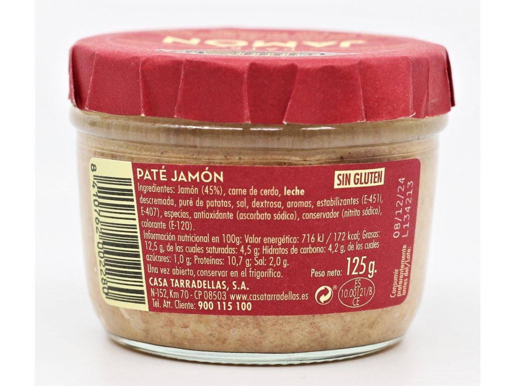 Paštika z jamónu