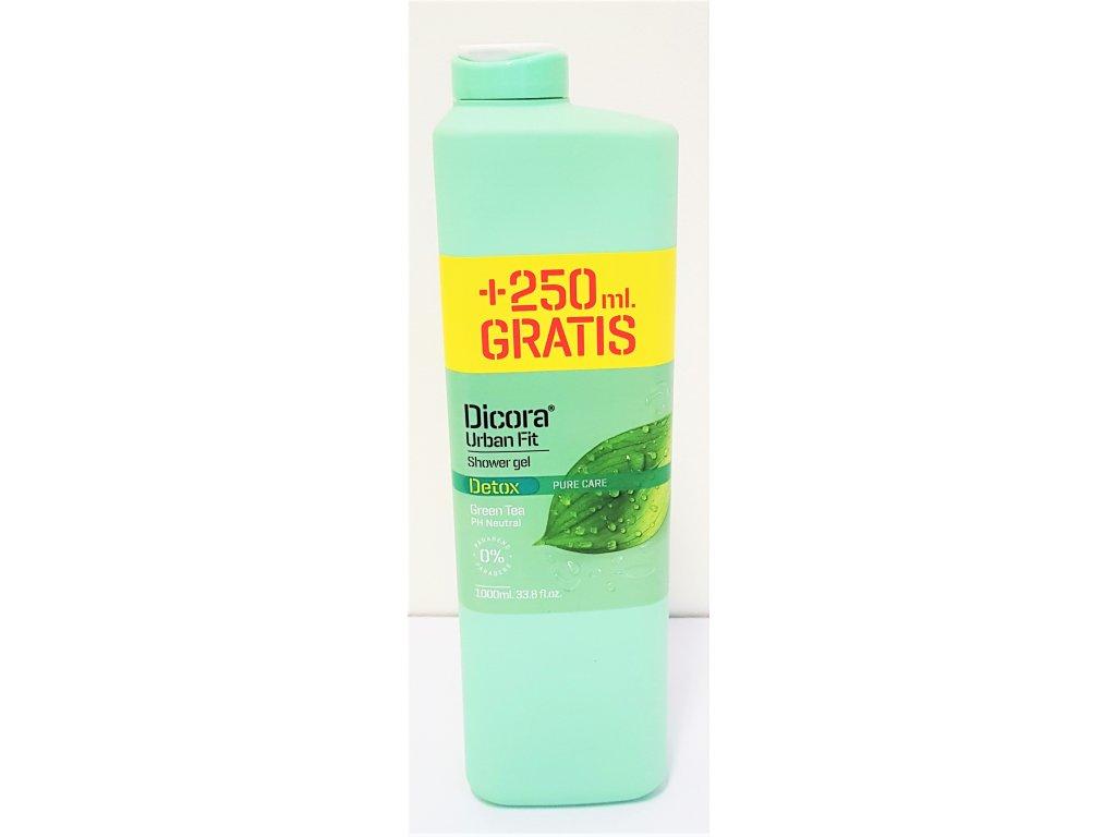 Sprchový gel Dicora zelený čaj