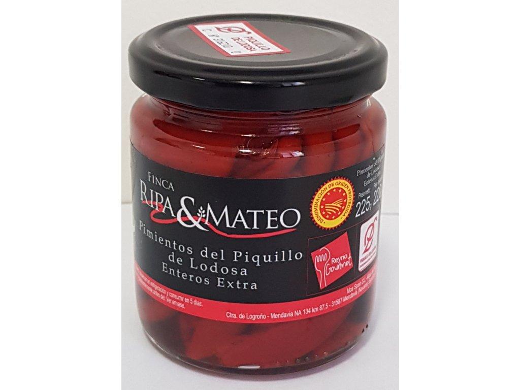 Pečená paprika pikantní Ripa Mateo celá