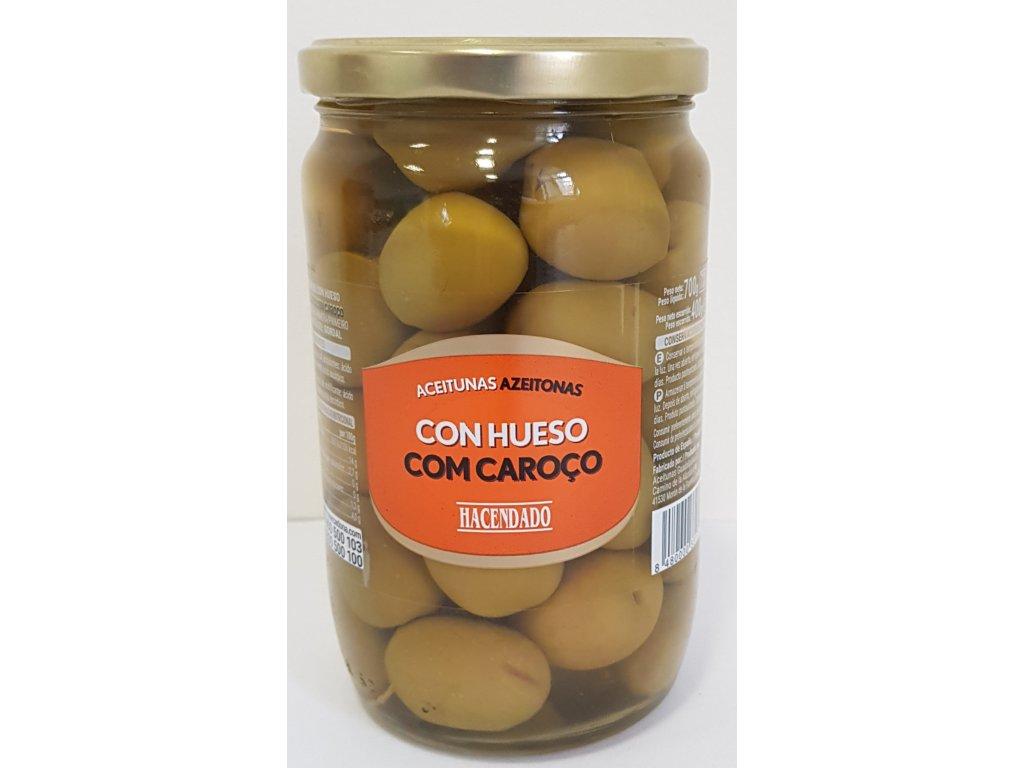 Olivy s peckou Gordal 700g
