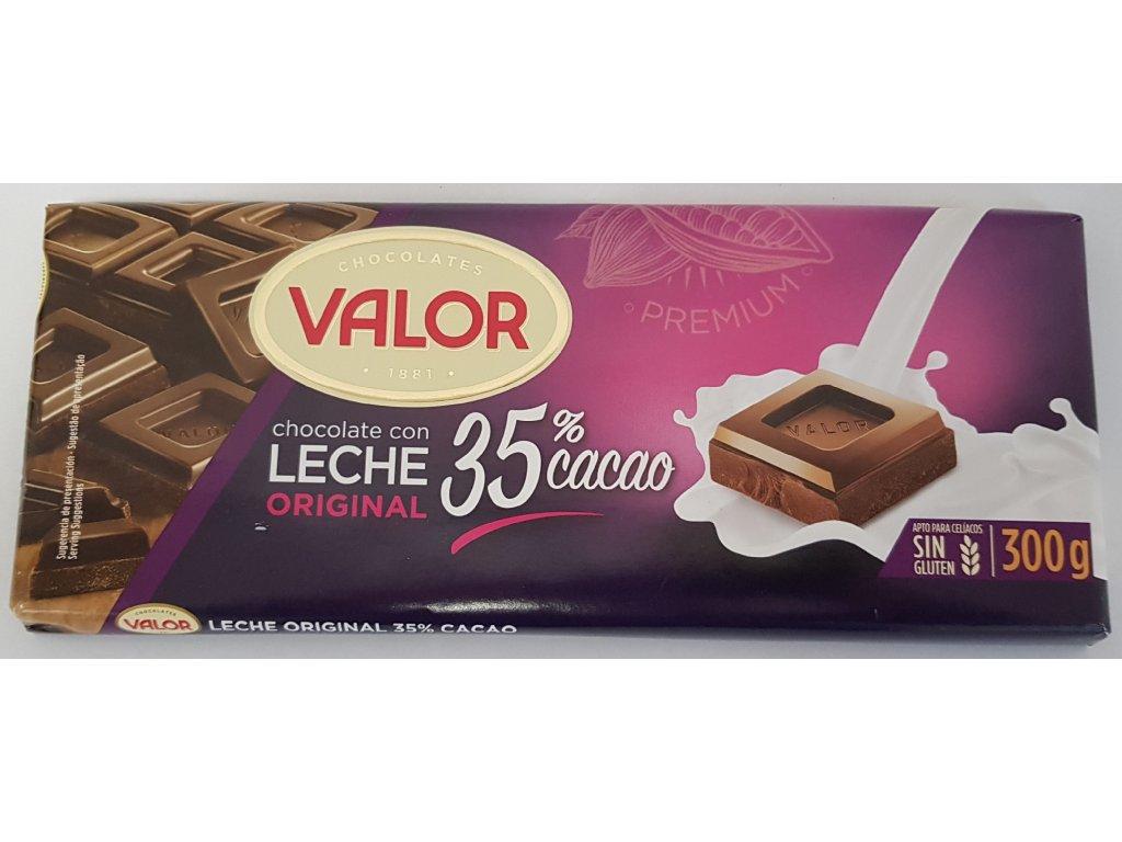 Čokoláda Valor mléčná