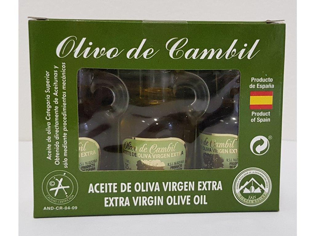 Olivový olej extra panenský 3ks