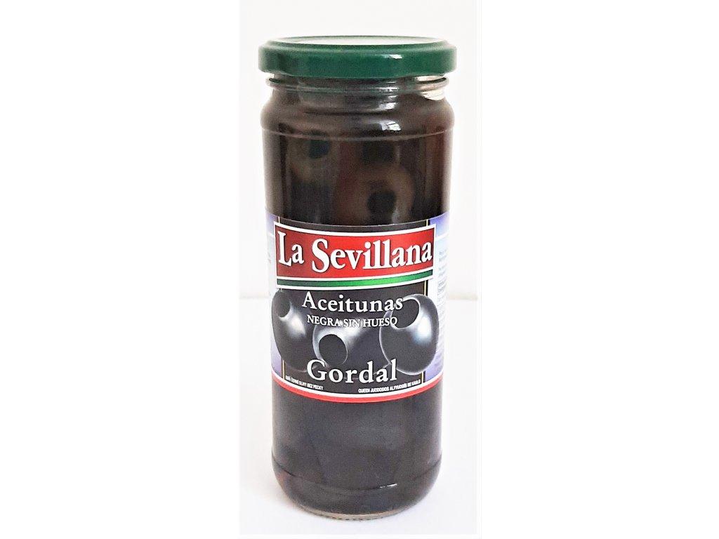 Olivy černé Gordal