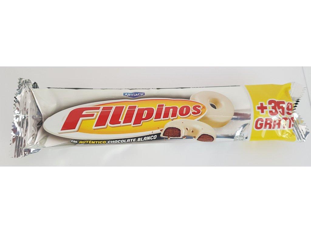 Filipinos v bílé čokoládě