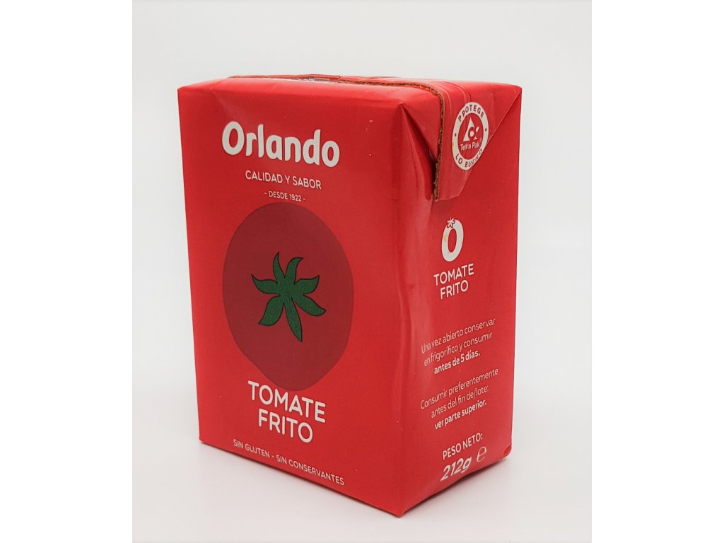 Pyré ze smažených rajčat Orlando