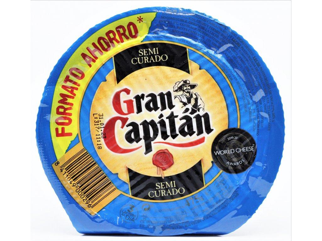 Sýr Gran Capitán semi curado míchaný