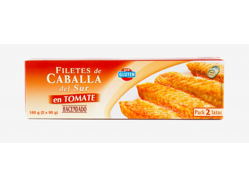 Makrely v tomatové omáčce 2x90g
