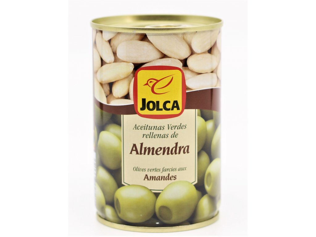 Olivy plněné mandlí 300g