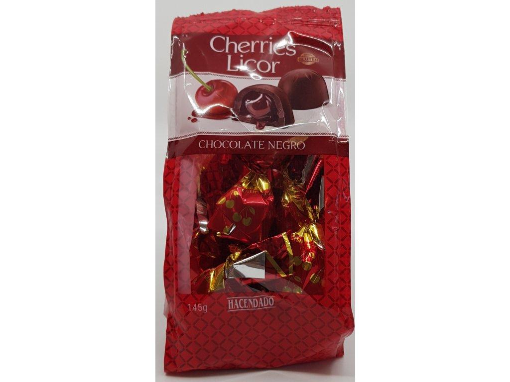 Čokoládové pralinky cherries licor