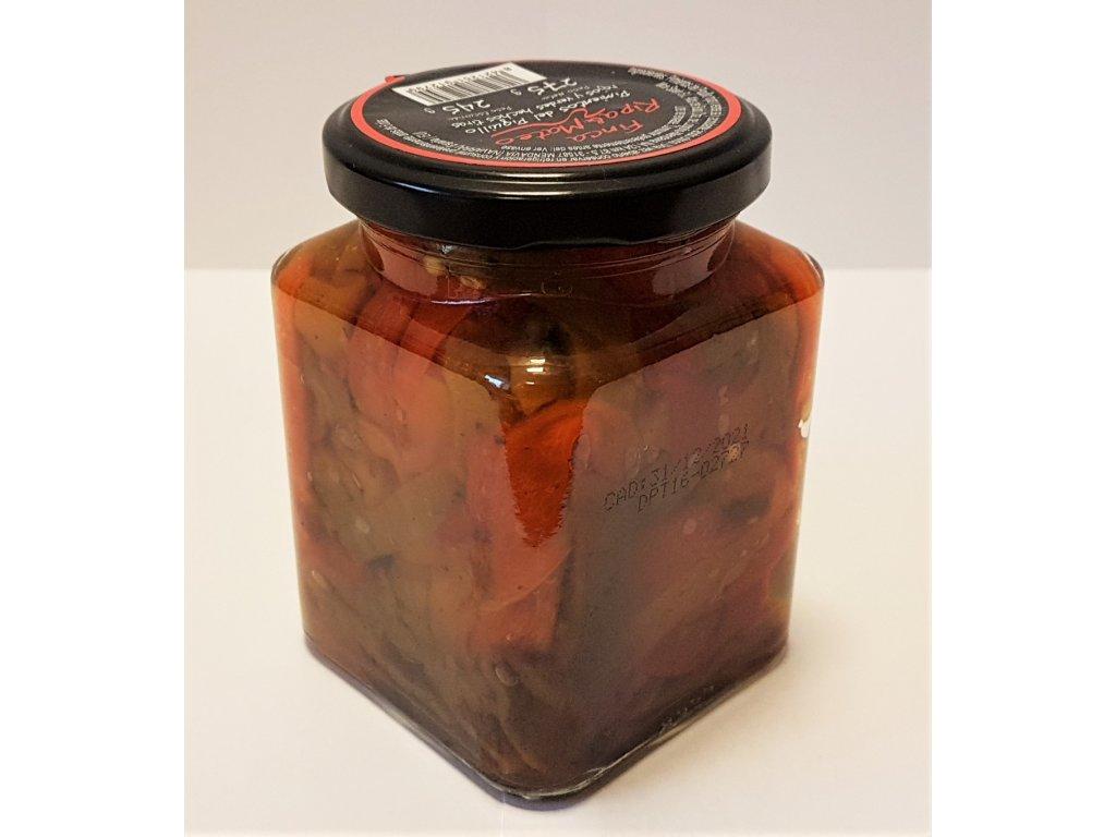 Pečené papriky nakládané