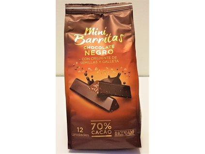 Čokoláda hořká se semínky