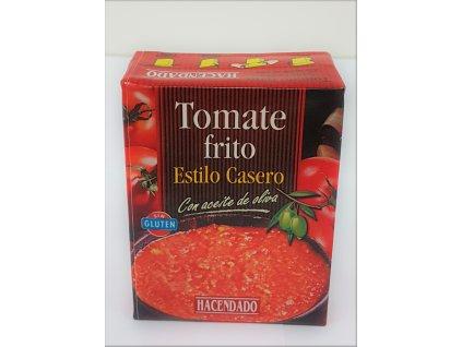 Pyré ze smažených rajčat domácí receptura