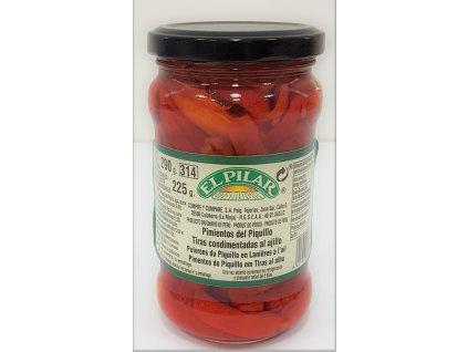 Pečené papriky pikantní s česnekem