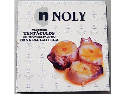 Chobotnice v galicijské omáčce