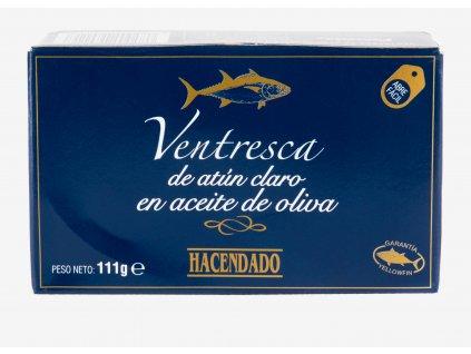 Tuňákové filety ventresca v olivovém oleji