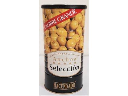 Olivy plněné ančovičkou 1460g