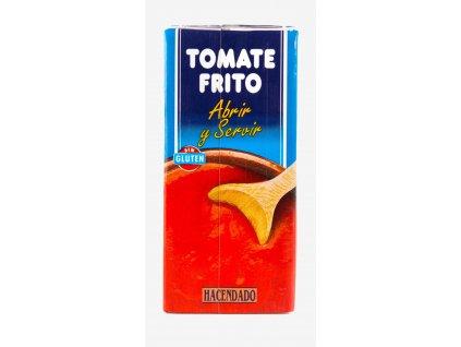 Pyré ze smažených rajčat