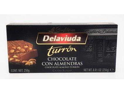 Turrón čokoláda s mandlemi 250g