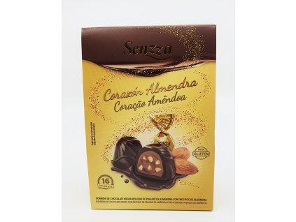Čokoládové pralinky s mandlovým krémem
