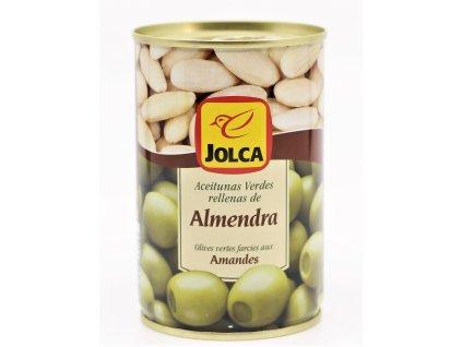 Olivy plněné mandlí