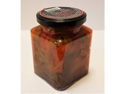 Pečené papriky pikantní 275g