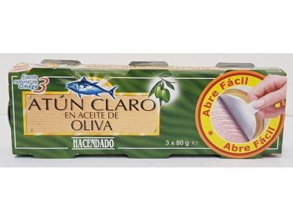 Tuňák v olivovém oleji 3x80g